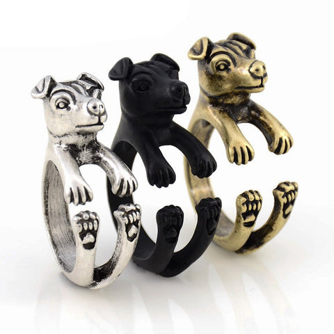 Cute Jack Russell ring