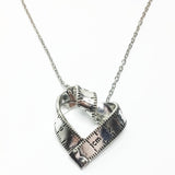 Adorable Tape Measure Necklace & Ring