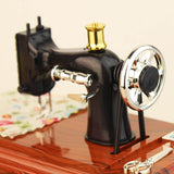Cute Mini Sewing Machine Music Box!