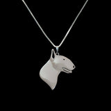 Cute Bull Terrier face Necklace