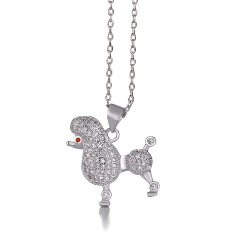 Amazing Poodle Necklace