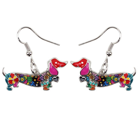 Cute Dachshund Earrings