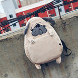 Unique Cute Pug Backpack