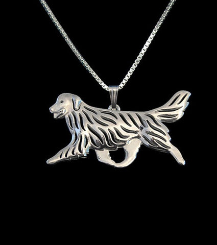Beautiful Golden Retriever Necklace