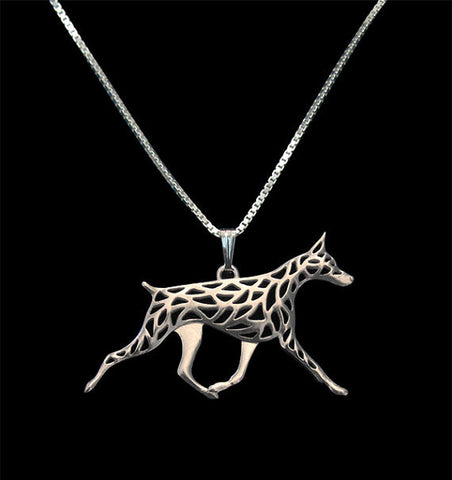 Beautiful Doberman Necklace