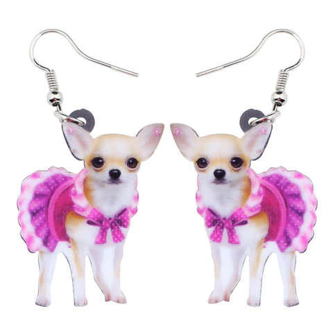 Beautiful Chihuahua Earrings