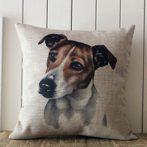 Beautiful Jack Russell Pillow cover