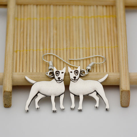 Cute Bull terrier Earrings