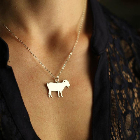 Beautiful Goat necklace