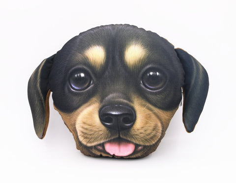 Cute Dachshund Headrest