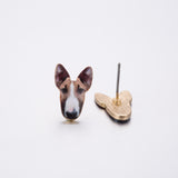 Adorable Bull Terrier Earrings