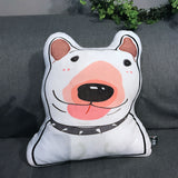 3D Bull Terrier Pillow Cushion