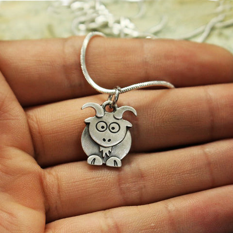 Cute goat Necklace