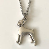 Adorable Boxer Necklace