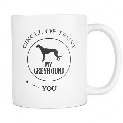 Circle of Trust Greyhound mug