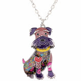 Awesome Happy Schnauzer Necklace
