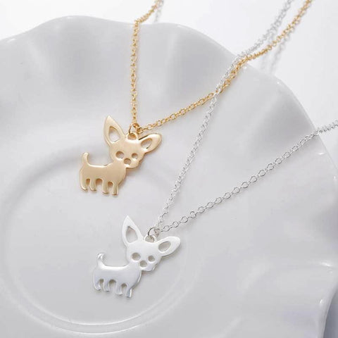 Cute Chihuahua Pet Necklace