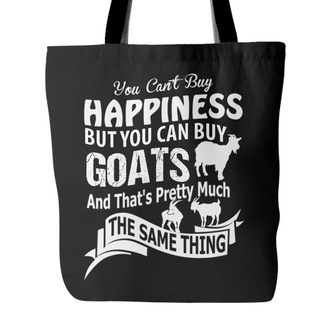 Awesome Goat Happiness Tote Bag