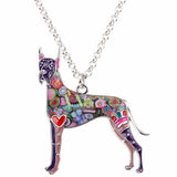 Beautiful Great Dane Necklace