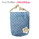 Cute Portable Sewing Kit Bag with Sewing Tools