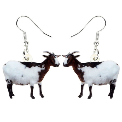 Beautiful Goat Earrings