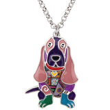 Beautiful Basset Hound Necklace