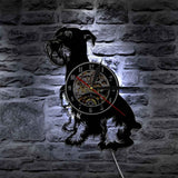 Amazing Schnauzer Wall Clock