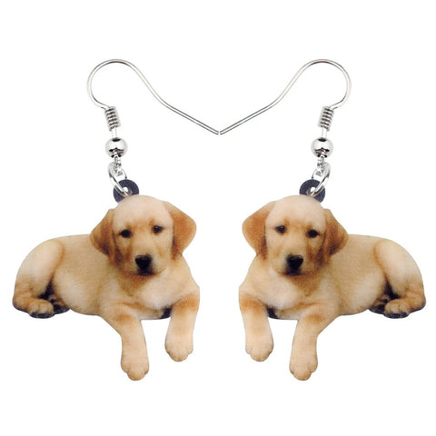 Cute Golden Retriever Earrings