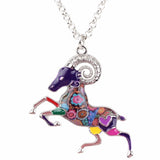 Cute Goat Multicolor Necklace