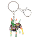 Cute Bull Terrier Key Chain