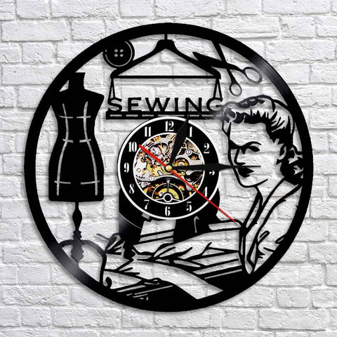 Beautiful Sewing wall Clock