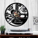 Amazing Sewing Tools Wall Clock 4