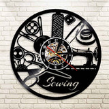 Amazing Sewing Tools Wall Clock 3
