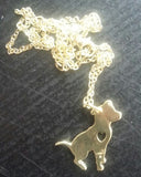 Beautiful Pitbull Dog Necklace