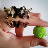 Cute French Bulldog Ring