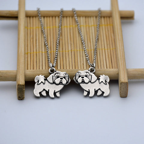 Cute Shih Tzu Necklace
