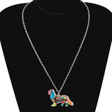 Beautiful Cavalier King Charles Spaniel Multicolor Necklace