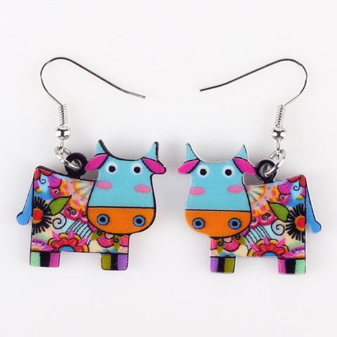 Lovely Cow Earrings