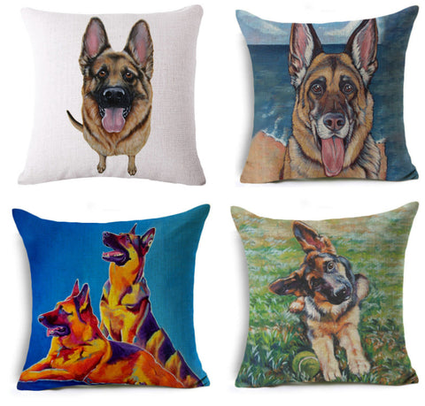 Beautiful German Shepherd Pillow Cover