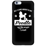 Poodle Phone case + Free shipping