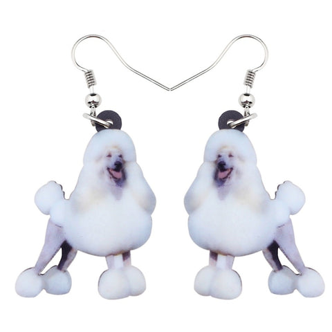 Beautiful Poodle Earrings