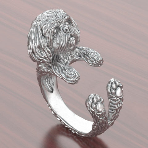 Cute Shih Tzu Ring
