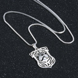 Pug Love Necklace
