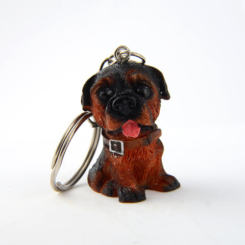 Awesome Rottweiler Keychain