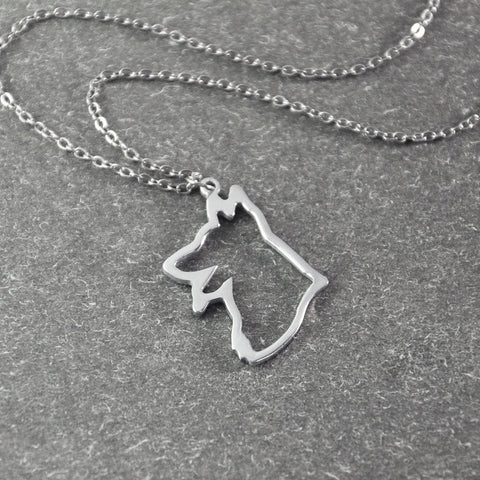 German shepherd necklace Dog