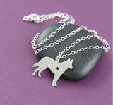 German Shepherd Necklace Memorial Gift