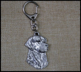 Cute Golden Retriever Keychain