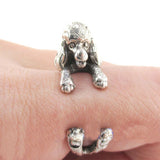 Cute Poodle Ring