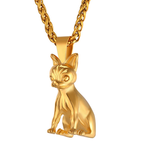 Adorable Chihuahuas Dog Necklace