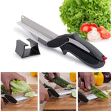 Clever Cutter 2 in 1 Kitchen Knife